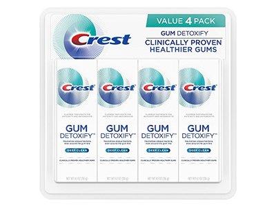 Crest Gum Detoxify Toothpaste, Deep Clean, 4.1 oz