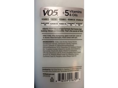 Alberto VO5 Detox Weightless Conditioner, 12.5 fl oz - Image 4