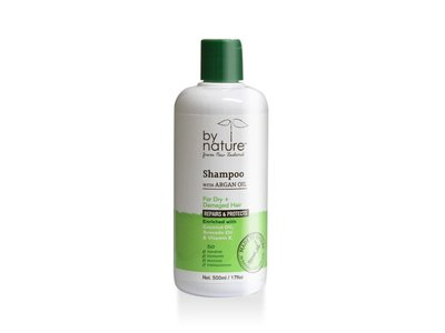 By Nature Skincare Shampoo with Argan Oil, 17 fl oz