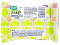 Pampers Kandoo Flushable Wipes, Sensitive, Soft Tub, 24 Count - Image 4