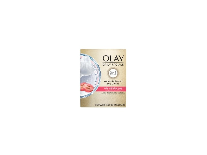 Olay Daily Facials Hydrating Cleansing Cloths