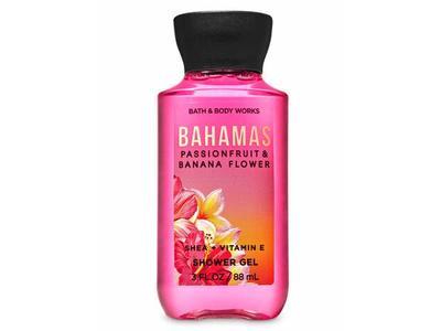 Bahamas Passionfruit & Banana Flower Shower Gel, Travel Size