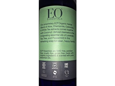 EO Essentials Invigorating Hand Soap, Lavender + Tea Tree + Peppermint, 1.6 fl oz/473 mL - Image 5