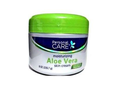 Personal Care Skin Cream Aloe Vera, 8 Ounce