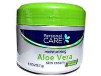 Personal Care Skin Cream Aloe Vera, 8 Ounce - Image 2