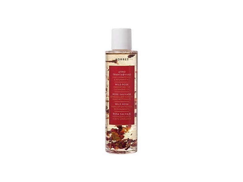 KORRES Wild Rose Makeup Melter Cleansing Oil, 5.07 Fl oz.
