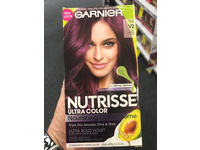 Garnier Nutrisse Ultra Color Nourishing Hair Color Creme, V2 Spiced Plum Dark Intense Violet - Image 4