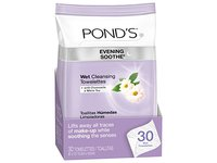 Pond's Evening Soothe Wet Cleansing Towelettes with Chamomile and White Tea, 30 Count - Image 2