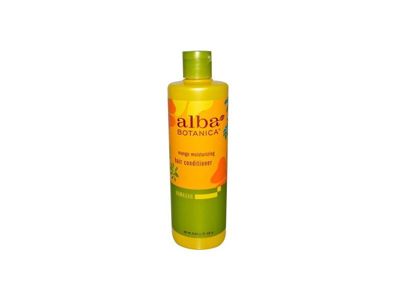 Alba Botanica Conditioner Moisturizing, Mango, 12 oz