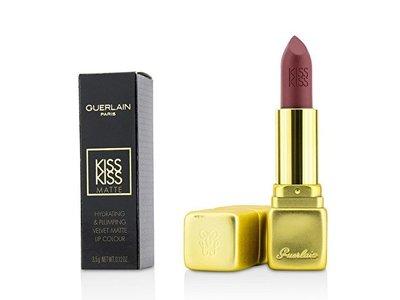 Guerlain Paris KissKiss Matte Lipstick, M307 Crazy Nude, 0.12 oz.