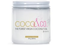 Coconut Oil for Hair & Skin By COCO&CO. Beauty Grade 100% RAW (8oz) - Image 1