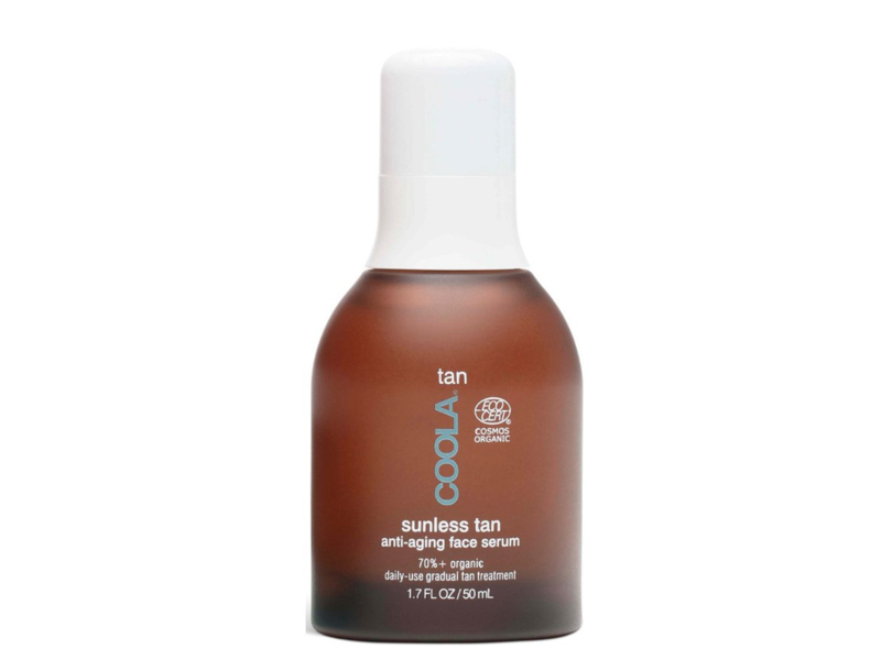 COOLA Organic Sunless Tan Anti-Aging Face Serum, 1.7 ounces