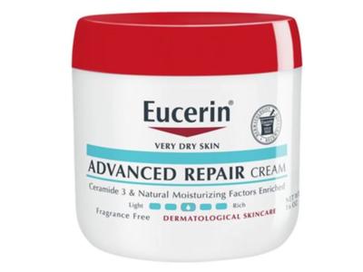 Eucerin Advanced Repair Skin Care Cream, Fragrance Free, 16 oz