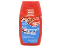 Crest Complete Whitening Plus Expressions Liquid Gel Toothpaste, Cinnamon Rush, 4.6 Ounce - Image 2