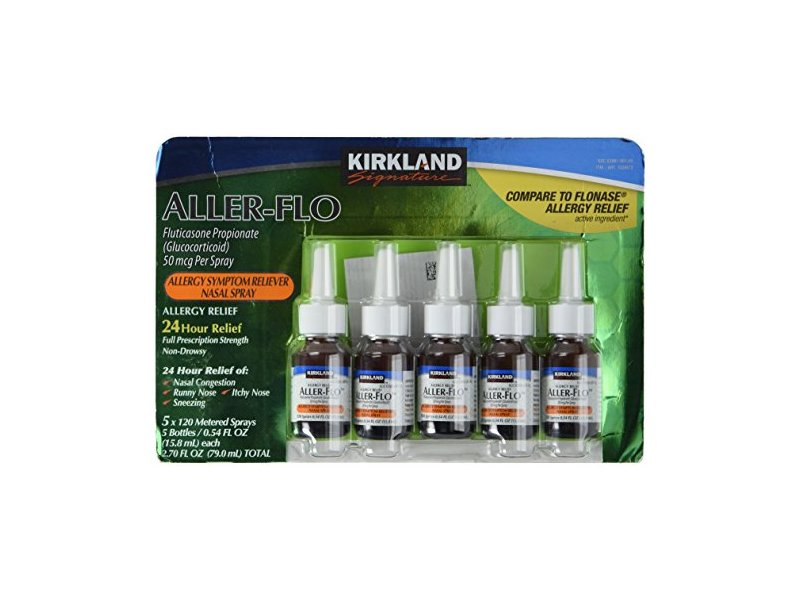 Kirkland Aller-Flo, 0.54 fl oz (Pack of 5)