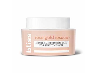 Bliss Rose Gold Rescue Gentle Moisture Cream, 1.5 fl oz