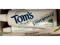 Tom's Of Maine Natural Toothpaste, Fresh Mint, 3 oz - Image 4