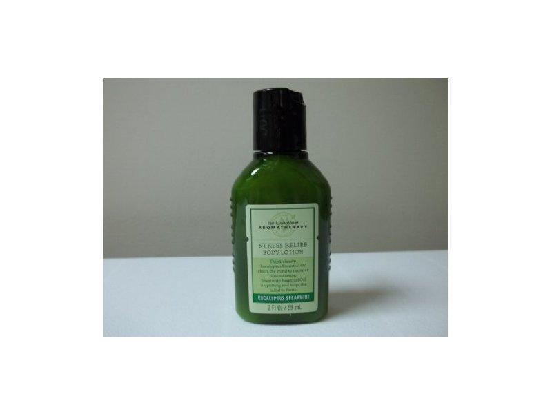 Bath Body Works Stress Relief Eucalyptus Spearmint Body Lotion