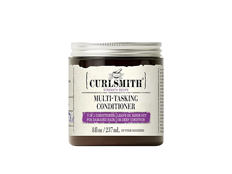 Curlsmith Multi-Tasking Conditioner, 3 in 1 Conditioner, 8 fl oz / 237 ml