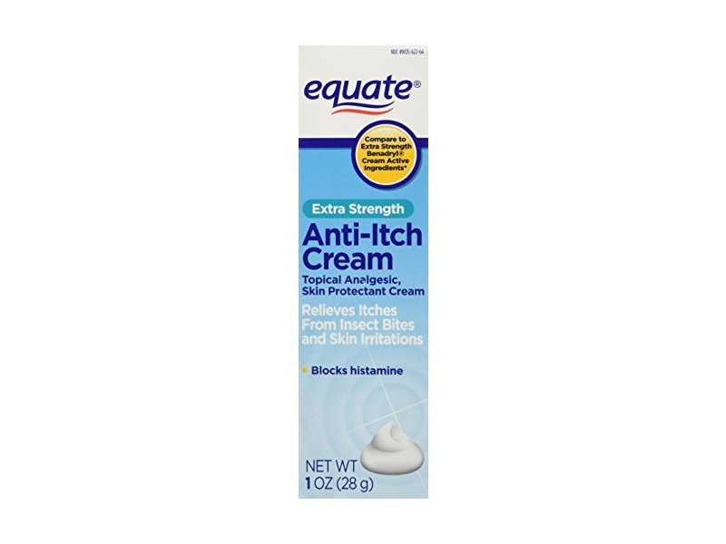Equate Extra-Strength Anti-Itch Cream, 1 oz