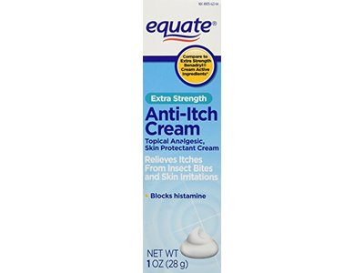 Equate Extra-Strength Anti-Itch Cream, 1 oz - Image 1