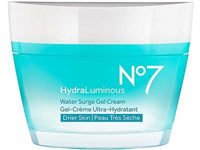 No7 Hydraluminous Overnight Recovery Gel Cream, 1.6 oz