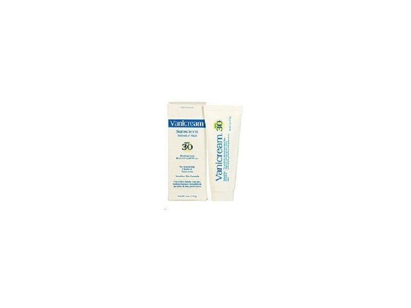 Vanicream Sunscreen Broad Spectrum, SPF 30, 4 oz (2 pack)