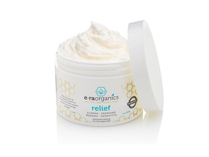 E-raorganics Psoriasis & Eczema Cream, 8 oz
