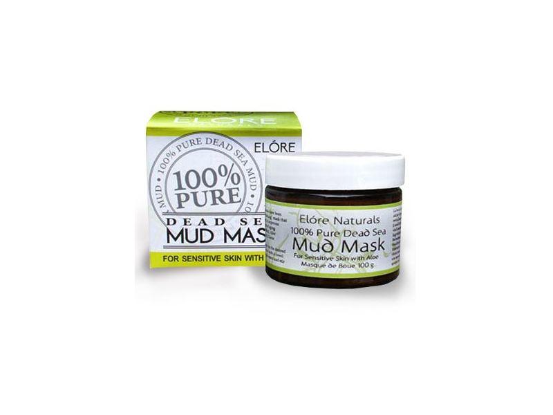 Elore Naturals 100% Pure Dead Sea Mud Mask, Aloe Blend, 100 g