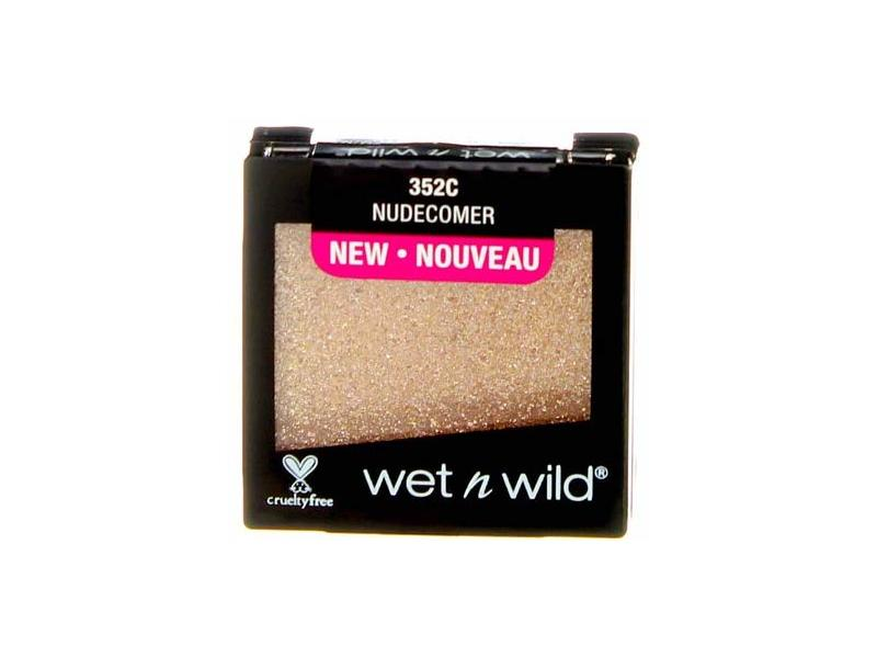 Wet n Wild Color Icon Glitter Single, Nudecomer, 0.05 oz