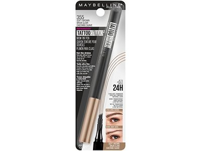 Maybelline TattooStudio Brow Tint Pen Makeup, Soft Brown, 0.037 fl. oz. - Image 5
