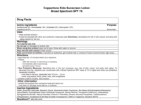 Coppertone KIDS Sunscreen Lotion Broad Spectrum SPF 70, 8 fl oz - Image 5