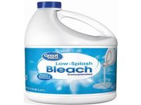 Great Value Low-Splash Concentrated Bleach, 121 fl oz - Image 2
