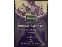 Kneipp Mineral Bath Salt, Relaxing, Lavender, 2.1 oz/60 g - Image 3