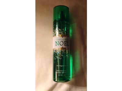 Bath and Body Works Holiday Traditions Vanilla Bean Noel Fine Fragrance Mist, 8.0 Fl Oz - Image 3