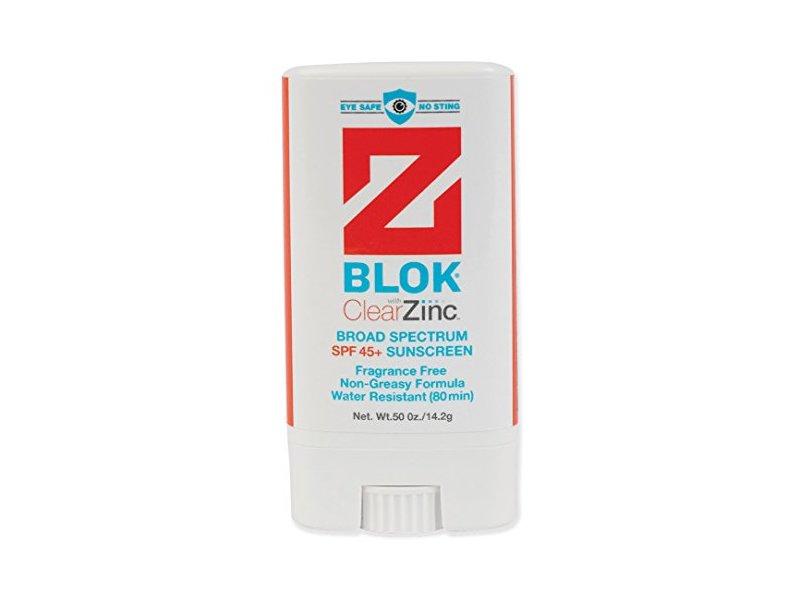 Z Blok Stick Sunscreen, .50 oz
