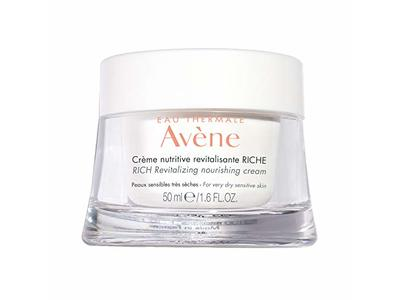 Eau Thermale Avene Rich Revitalizing Nourishing Cream, 1.6 fl oz/50 mL