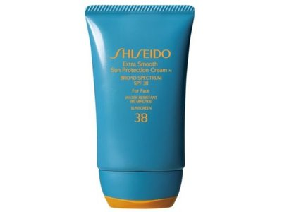 Shiseido Extra Smooth Sun Protection Cream, Water resistant SPF 38, 2 oz