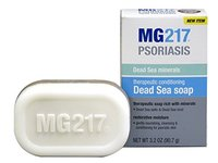 MG217 Therapeutic Conditioning Dead Sea Soap Bar, 3.4 Ounce - Image 5