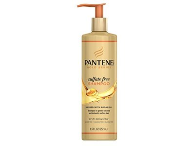 Pantene Shampoo Gold Series Sulfate-Free, 8.5 Ounce