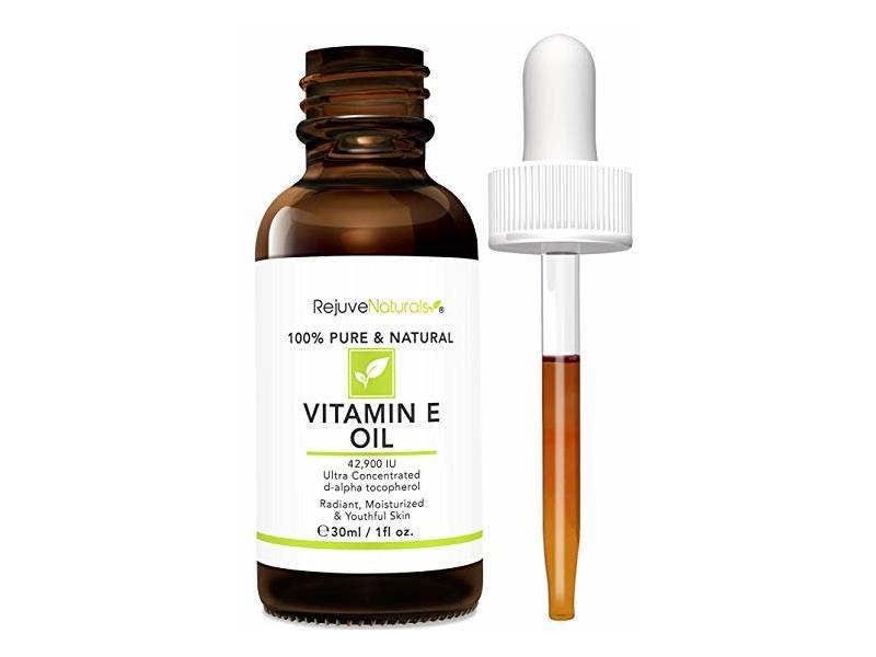 RejuveNaturals 100% Pure & Natural Vitamin E Oil, 1 fl oz