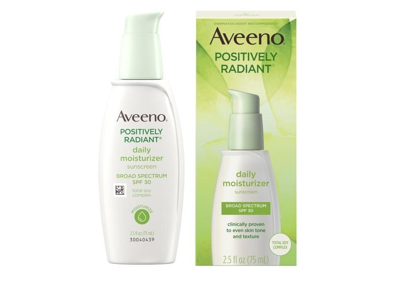 Aveeno Active Naturals Positively Radiant Daily Moisturizer, SPF 30