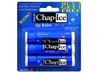 OraLabs Chap-Ice Lip Balm, SPF 15, 0.15 oz