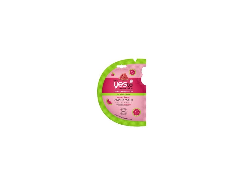 Yes To Watermelon Super Fresh Paper Mask - Single Use
