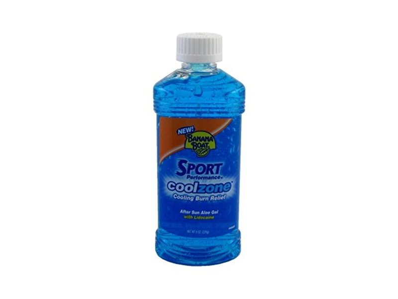 Banana Boat Sport Cool Zone After Sun Aloe Gel With Lidocaine 8oz Ingredients And Reviews
