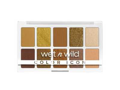 Wet N Wild Color Icon 10 Pan Shadow Palette, Call Me sunshine, 0.42 oz
