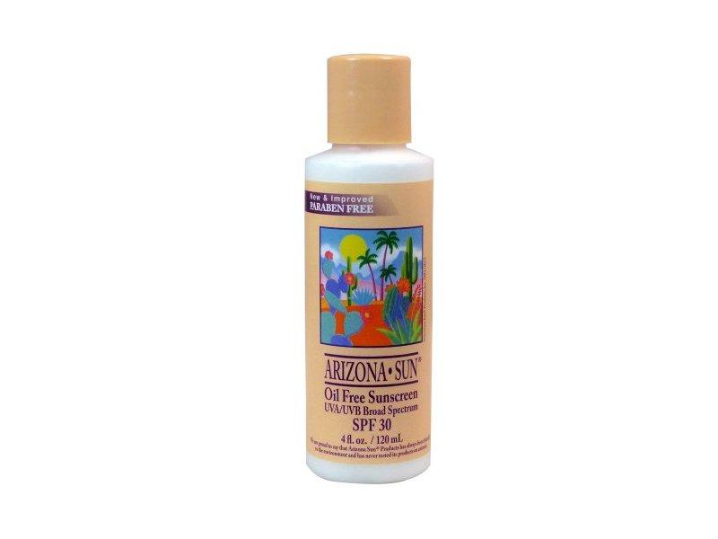 Arizona Sun Oil Free Sunscreen, SPF30, 4 fl oz