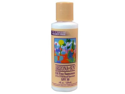 Arizona Sun Oil Free Sunscreen, SPF30, 4 fl oz