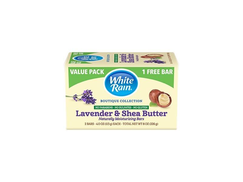 White Rain Boutique Collection Lavender & Shea Butter Bar