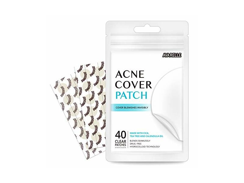 Avarelle Acne Absorbing Cover Patch, 40 count